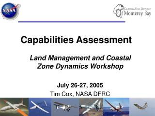 Capabilities Assessment