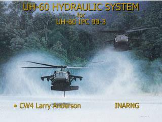 UH-60 HYDRAULIC SYSTEM for UH-60 IPC 99-3