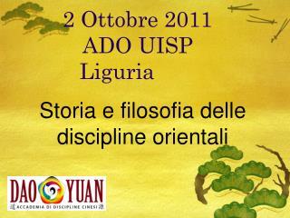 2 Ottobre 2011 ADO UISP Liguria