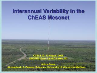 Interannual Variability in the ChEAS Mesonet