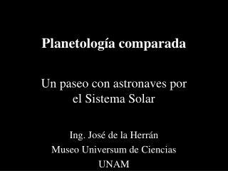 Planetología comparada