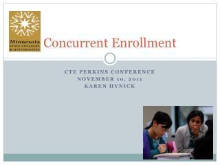 Concurrent Enrollment