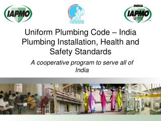 Uniform Plumbing Code – India Plumbing Installation, Health and Safety Standards
