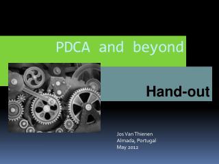 PDCA and  beyond