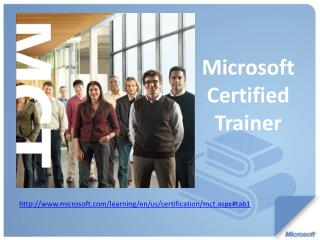 Microsoft Certified Trainer