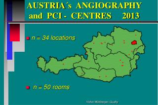 AUSTRIA´s  ANGIOGRAPHY       and  PCI -  CENTRES     2013