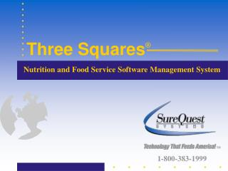Nutrition and Food Service Software Management System