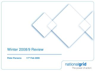 Winter 2008/9 Review