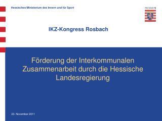 IKZ-Kongress Rosbach