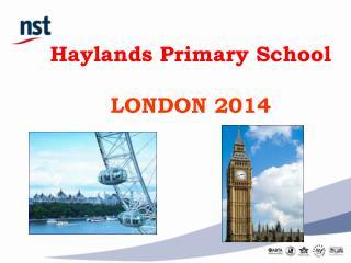 Haylands Primary School  LONDON 2014