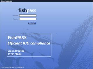 FishPASS - TraceTracker Confidential -  10/06/2011