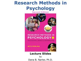 Research Methods in Psychology Second Edition