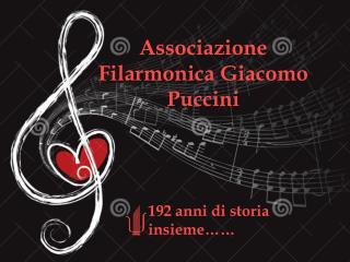 Associazione Filarmonica Giacomo Puccini