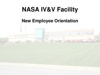 NASA IV&V Facility