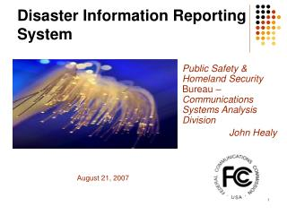 Disaster Information Reporting System