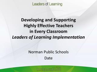 Norman Public Schools Date