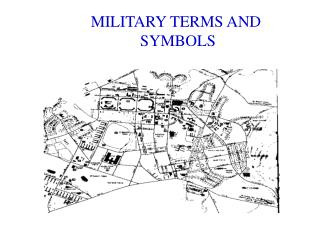 MILITARY TERMS AND  SYMBOLS