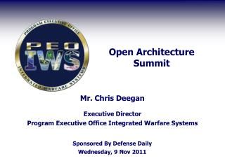 Open Architecture Summit