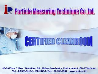 CERTIFIED CLEANROOM