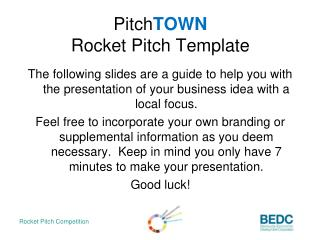 Pitch TOWN Rocket Pitch Template