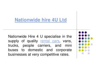 4 by 4 hire