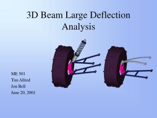 3D Beam Large Deflection Analysis