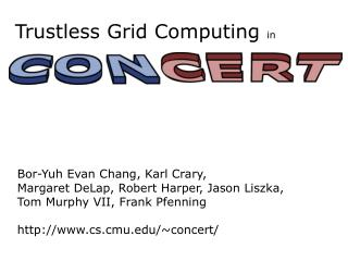 Trustless Grid Computing  in