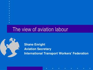 The view of aviation labour