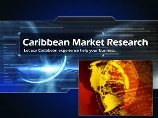 Caribbean Market Research