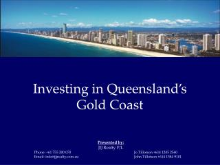 Investing in Queensland's Gold Coast
