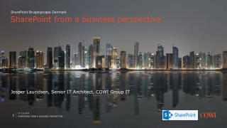 SharePoint  from a business perspective