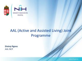 AAL (Active and Assisted Living) Joint Programme