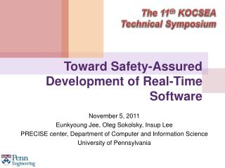 Toward Safety-Assured Development of Real-Time Software