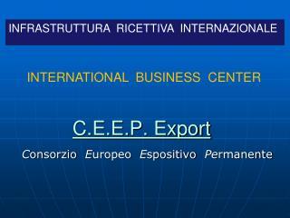 C.E.E.P. Export