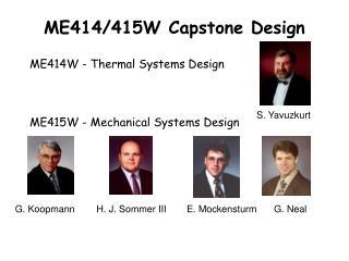 ME414/415W Capstone Design