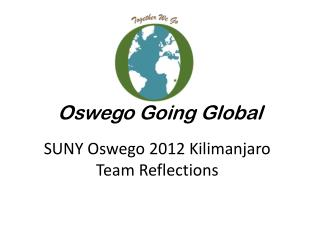 Oswego Going Global