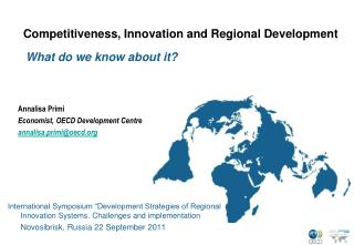 Competitiveness, Innovation and Regional Development