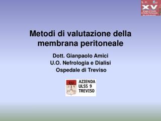 Metodi di valutazione della membrana peritoneale