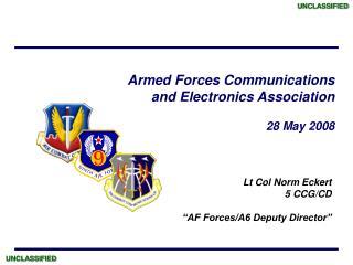 Lt Col Norm Eckert 5 CCG