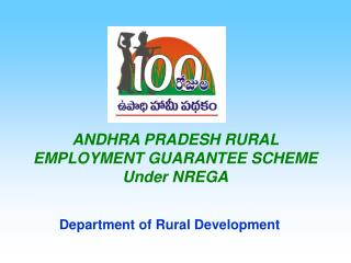 ANDHRA PRADESH RURAL EMPLOYMENT GUARANTEE SCHEME Under NREGA