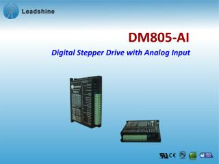 Digital Stepper Drive with Analog Input