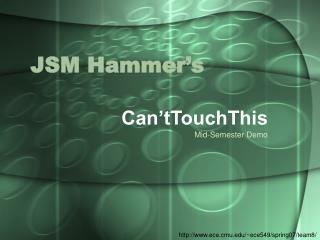 JSM Hammer's