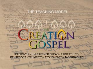 THE TEACHING MODEL