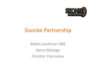 Sisonke Partnership