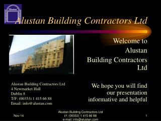 Alustan Building Contractors Ltd