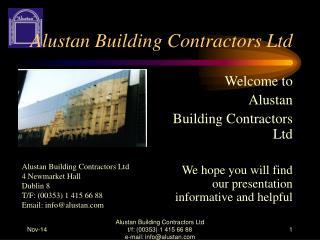 Alustan Building Contractors Ltd