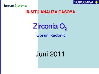 IN-SITU ANALIZA GASOVA
