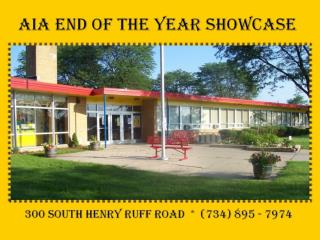 AIA END OF THE YEAR SHOWCASE