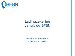 Ladingzekering vanuit de BFBN
