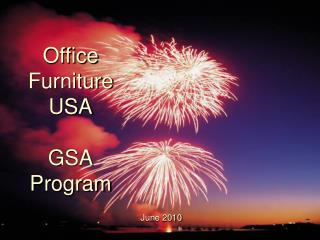 Office Furniture USA GSA Program